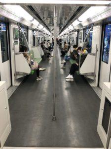 上海地下鉄2号線2020年3月