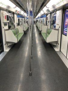 上海地下鉄2号線2020年2月