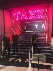上海クラブ・TAXX・入口