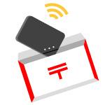 中国どこでもWiFiレンタルプラン・モバイルルーターをお受け取り-icon