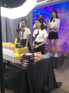 これが中国ライブコマースのライブ配信現場